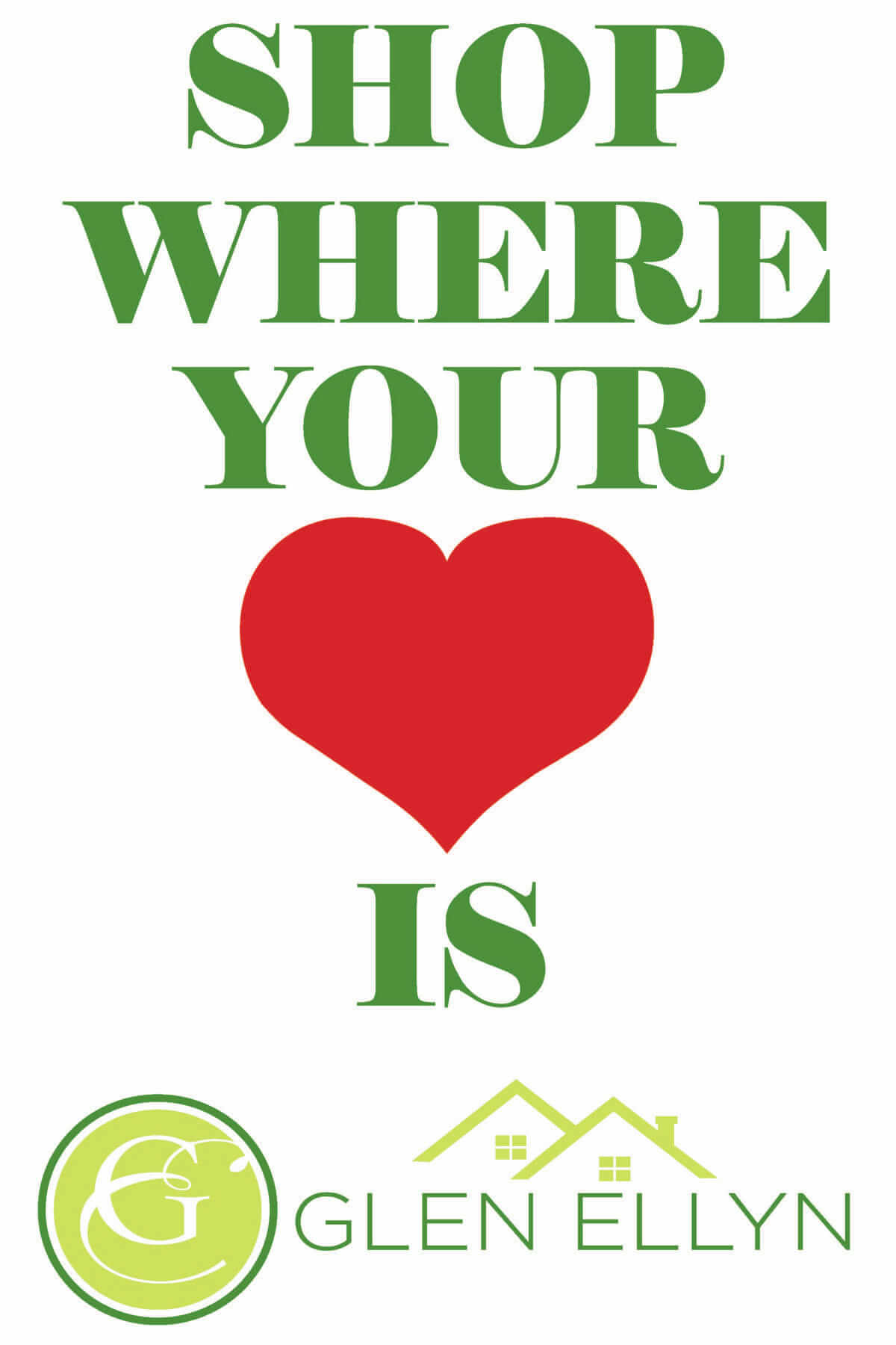 Shop Where Your Heart Is